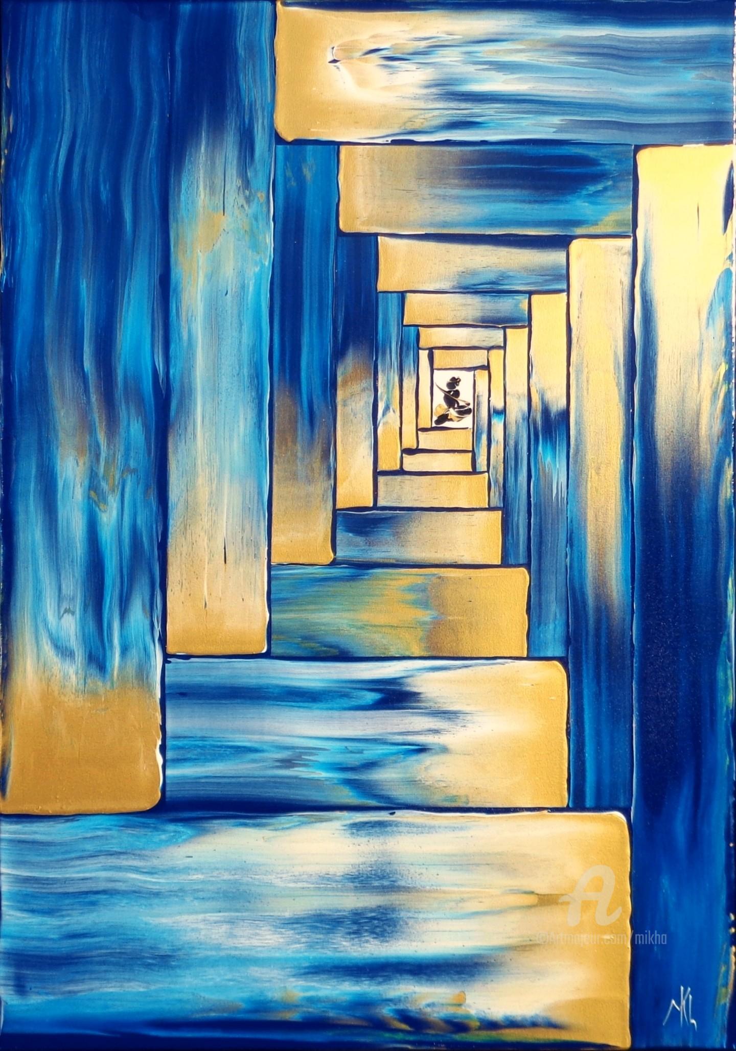 Mikha - Porte dorée (stairway to...)