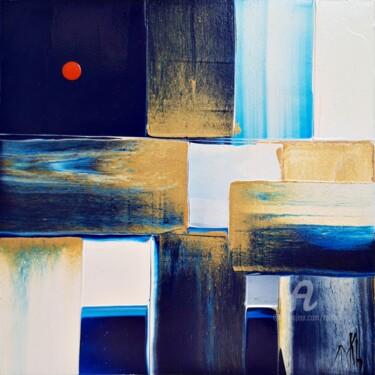 Abstraction cubique #210016. Lune rousse