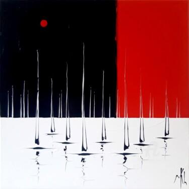 Marine en rouge, noir et blanc
